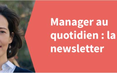 """""""Manager au quotidien"""" : Newsletter Septembre 2021"""